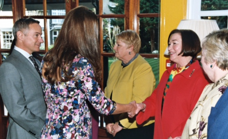 Claudia Meets the Duchess of Cambridge