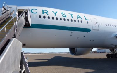 Private Jet Journeys and the New Crystal Skye